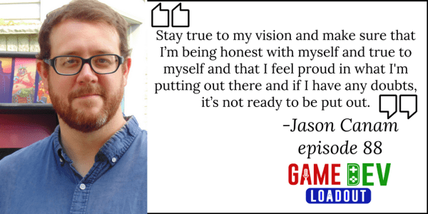 88: Join a Great Community for Inspiration with Jason Canam from Household Games