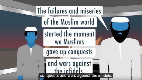 War against the infidels!