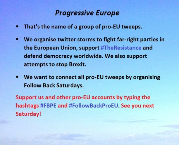 The original (verified) Infographic posted by FBPE starters