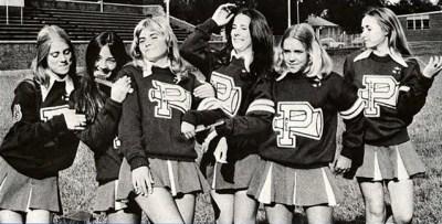 vintage cheerleaders