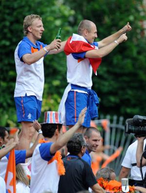 Dirk Kuyt and Arjen Robben
