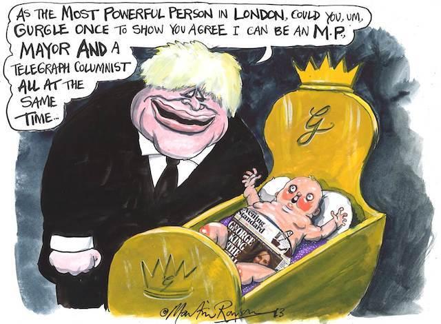 Satirical City Martin Rowson S London Cartoons Londonist