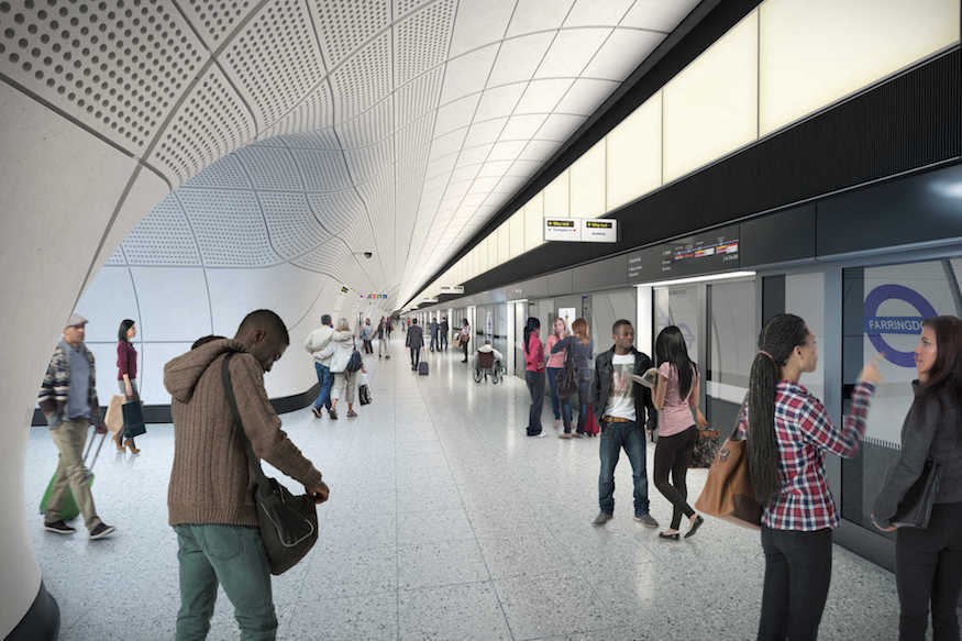 This Is What Crossrail Stations Will Look Like Londonist
