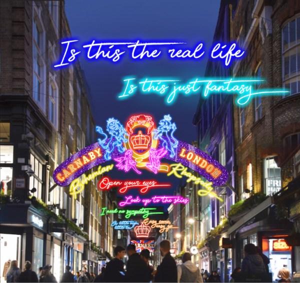 christmas lights london 2019 # 3