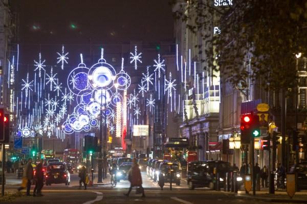 christmas lights london 2019 # 2