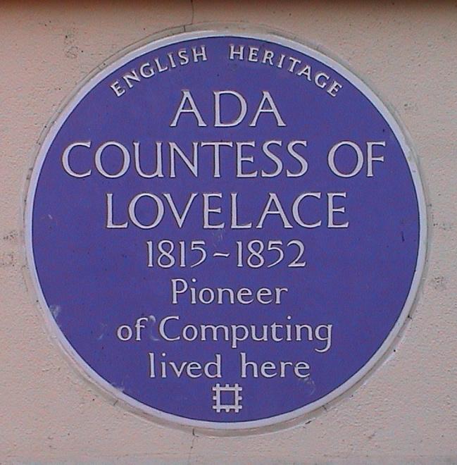 Ada Lovelace Gravestone
