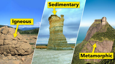 3 Main Types Of Rocks And Their Properties