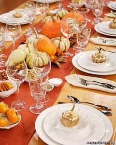 Macys Thanksgiving Table Setting Martha Stewart