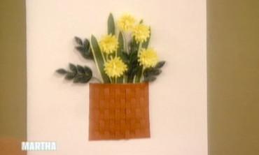 Video DIY Paper Flower Techniques Martha Stewart