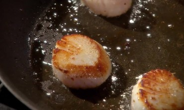 Video Pan Seared Scallops Martha Stewart