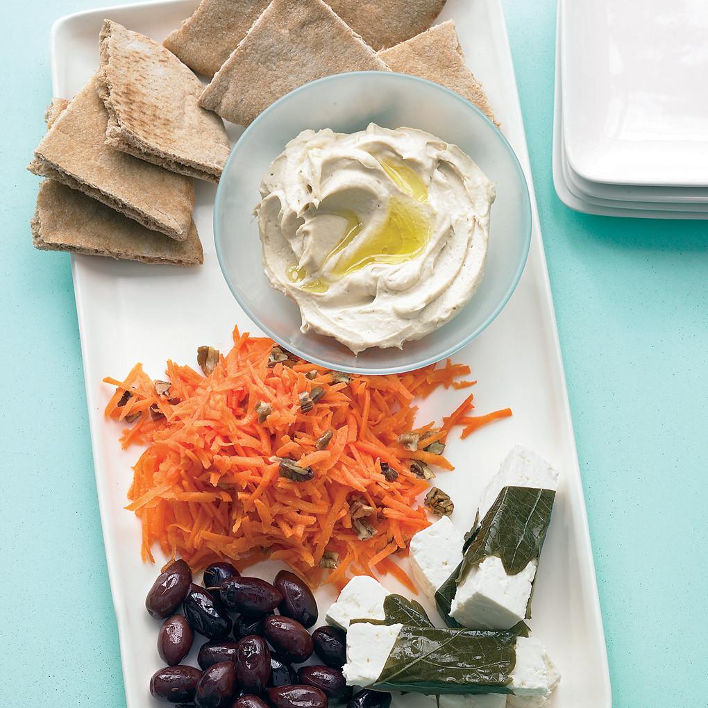 Mediterranean Mezze Platter Recipe Martha Stewart