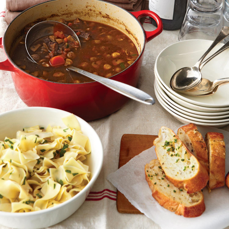 A Perfect Pot Of Boeuf Bourguignon Soup Martha Stewart