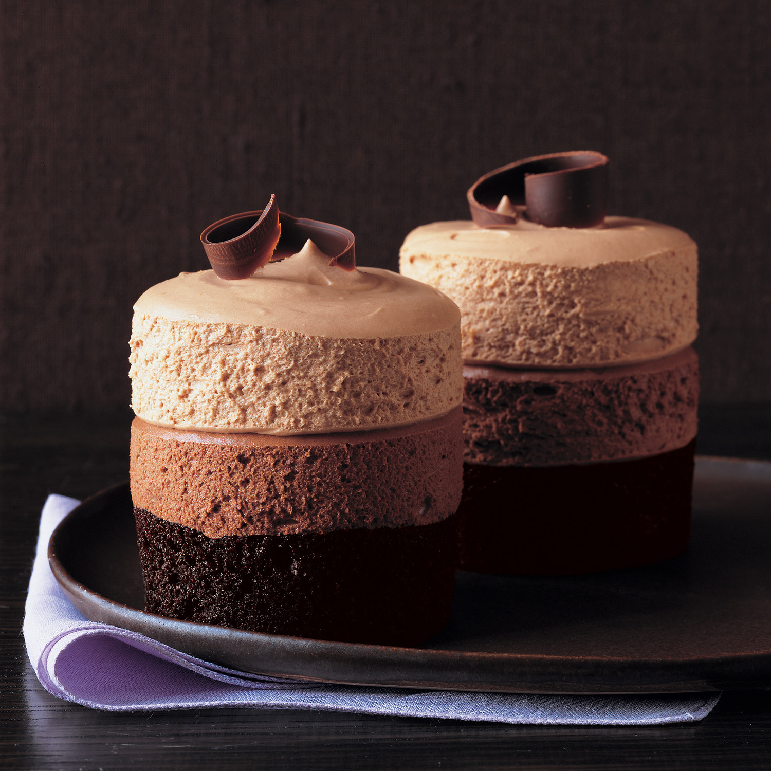 Individual Cakes Mousse