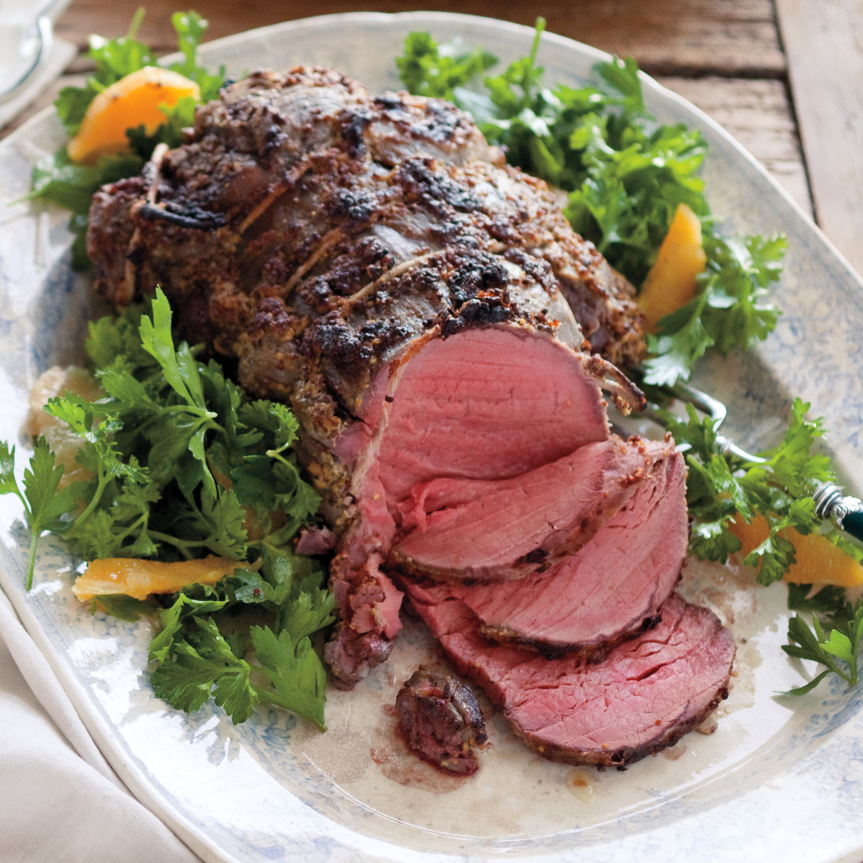 Mustard Roasted Beef Tenderloin Recipe Martha Stewart