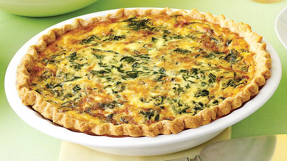Spinach And Gruyere Quiches Recipe Amp Video Martha Stewart