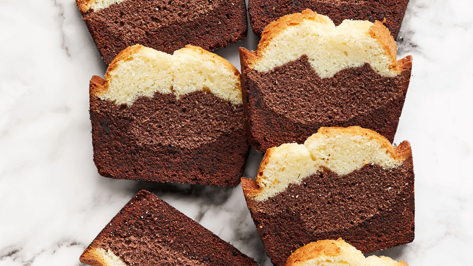 Three Layer Pound Cake