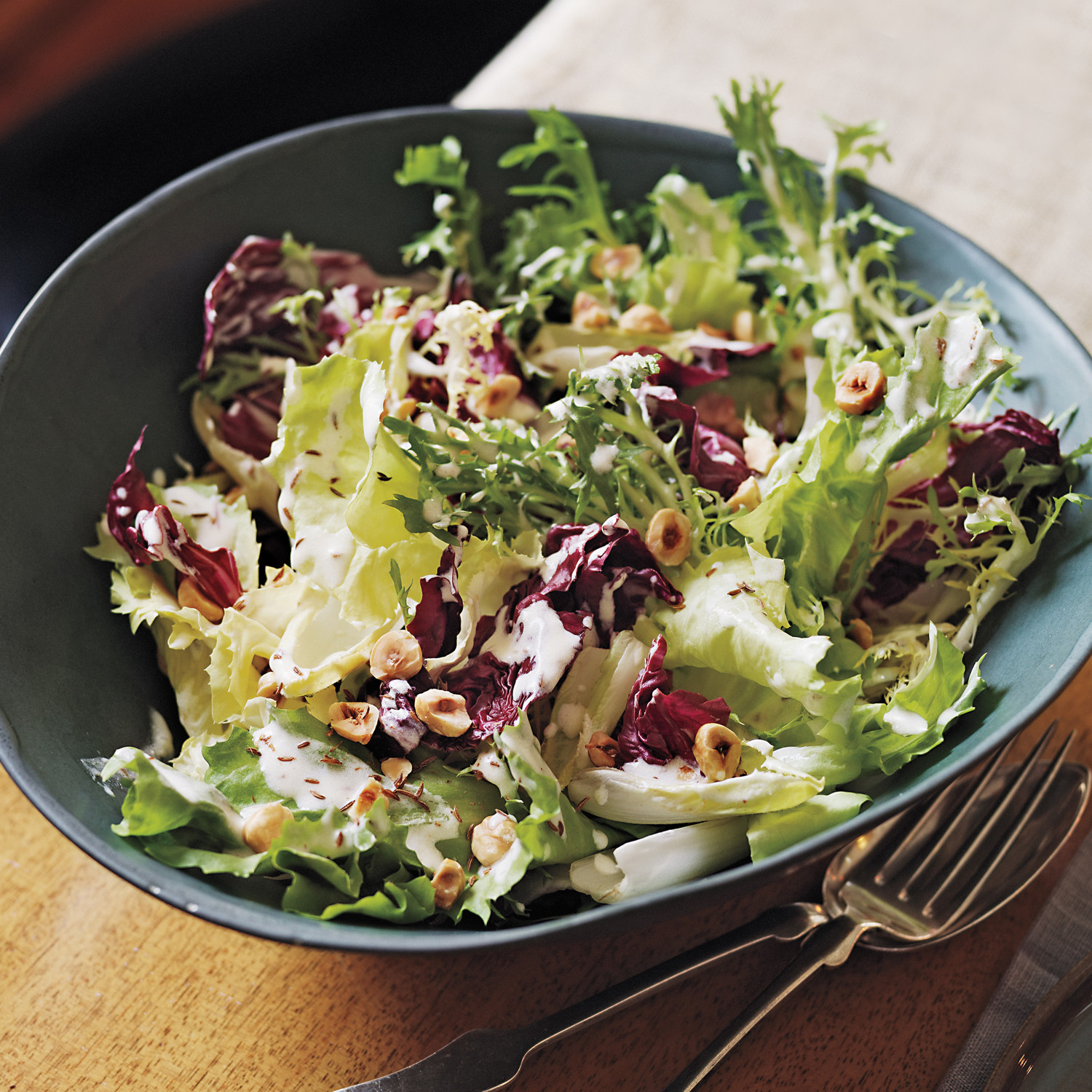 Chicory Salad With Meyer Lemon Dressing