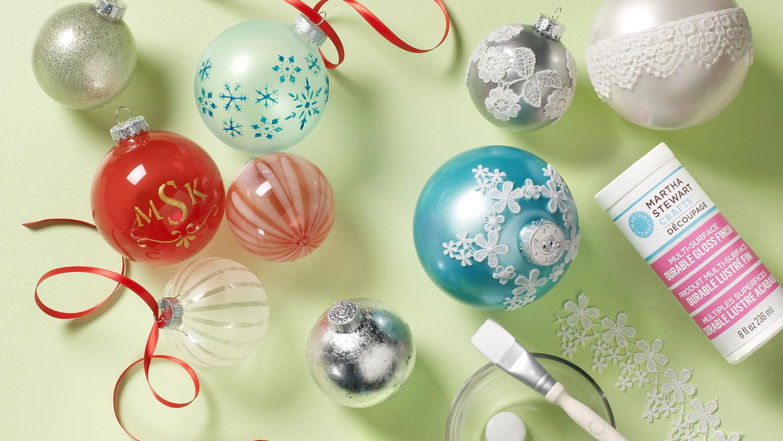 DIY Holiday Martha Stewart