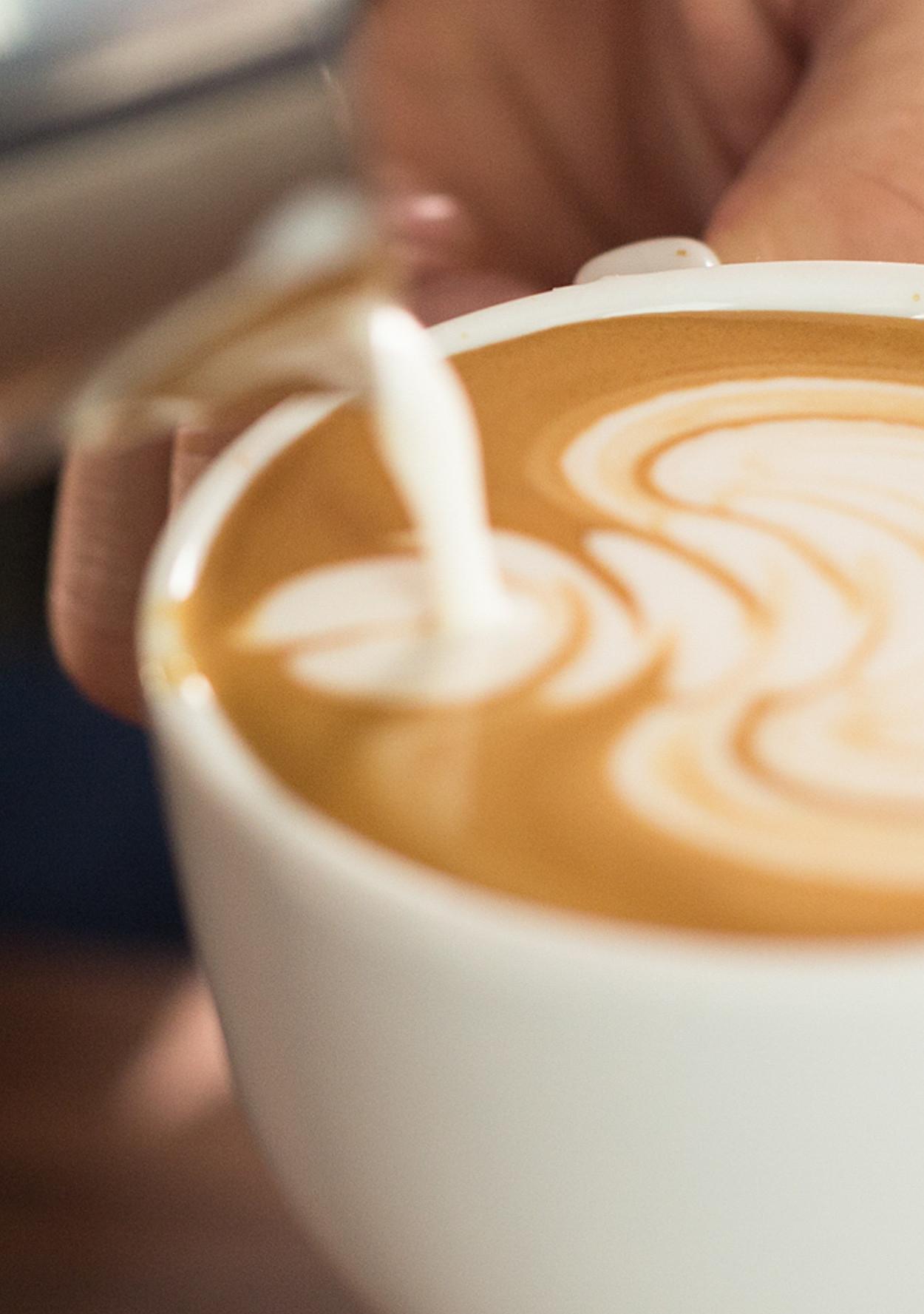 How To Make Latte Art Like A Barista Martha Stewart