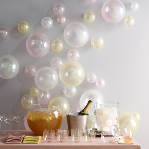 Bubble Themed Cocktail Party Martha Stewart