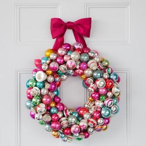 Christmas Ornament Wreath Martha Stewart