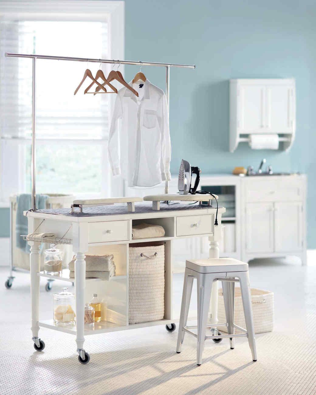 12 Essential Laundry Room Organizing Ideas Martha Stewart