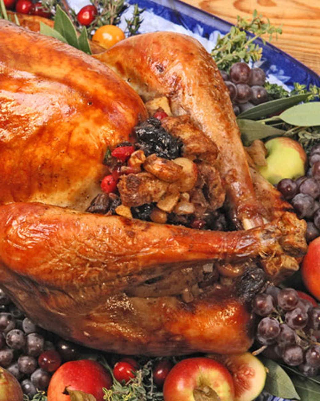 38 Terrific Thanksgiving Turkey Recipes Martha Stewart