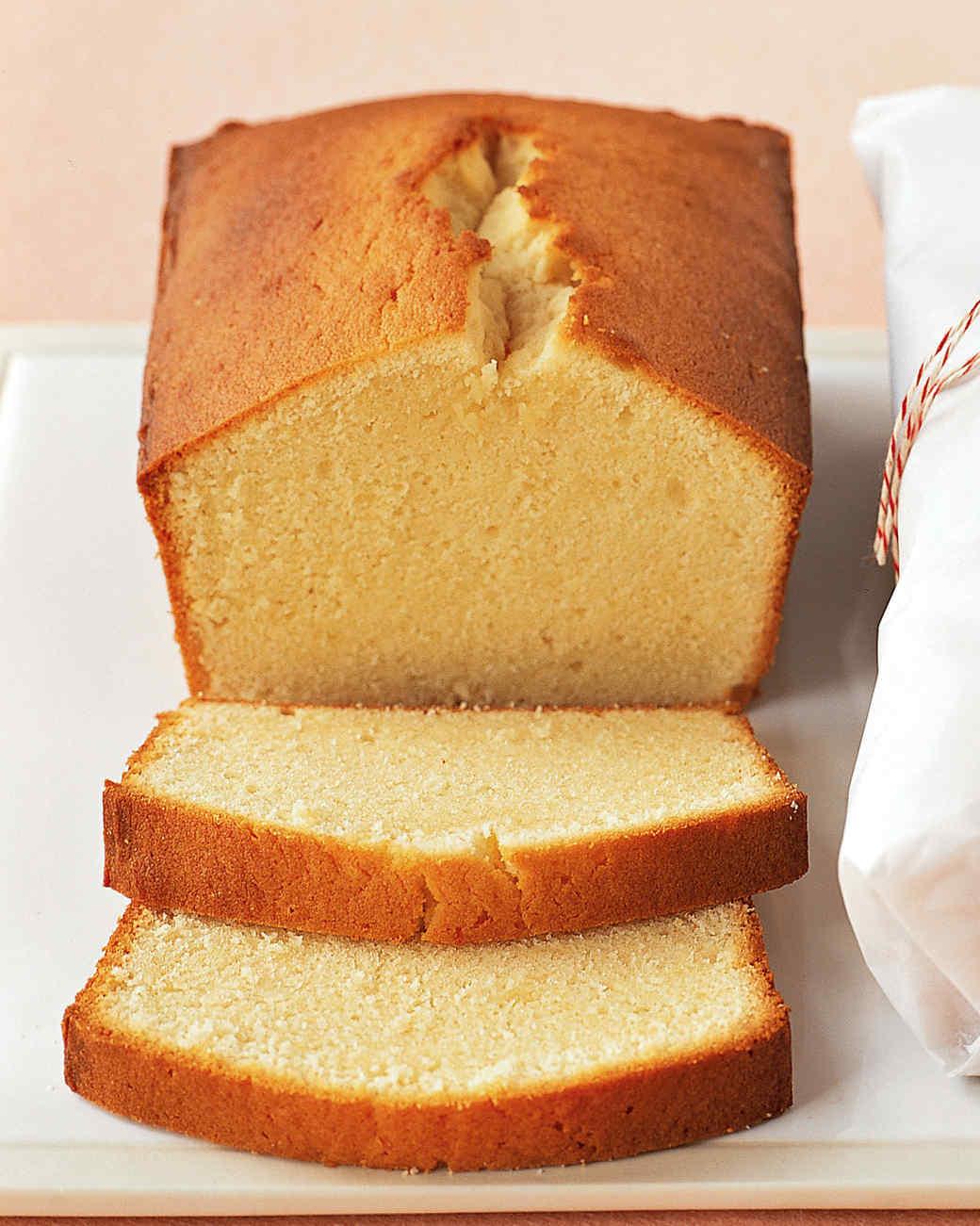Favorite Pound Cake Recipes Martha Stewart