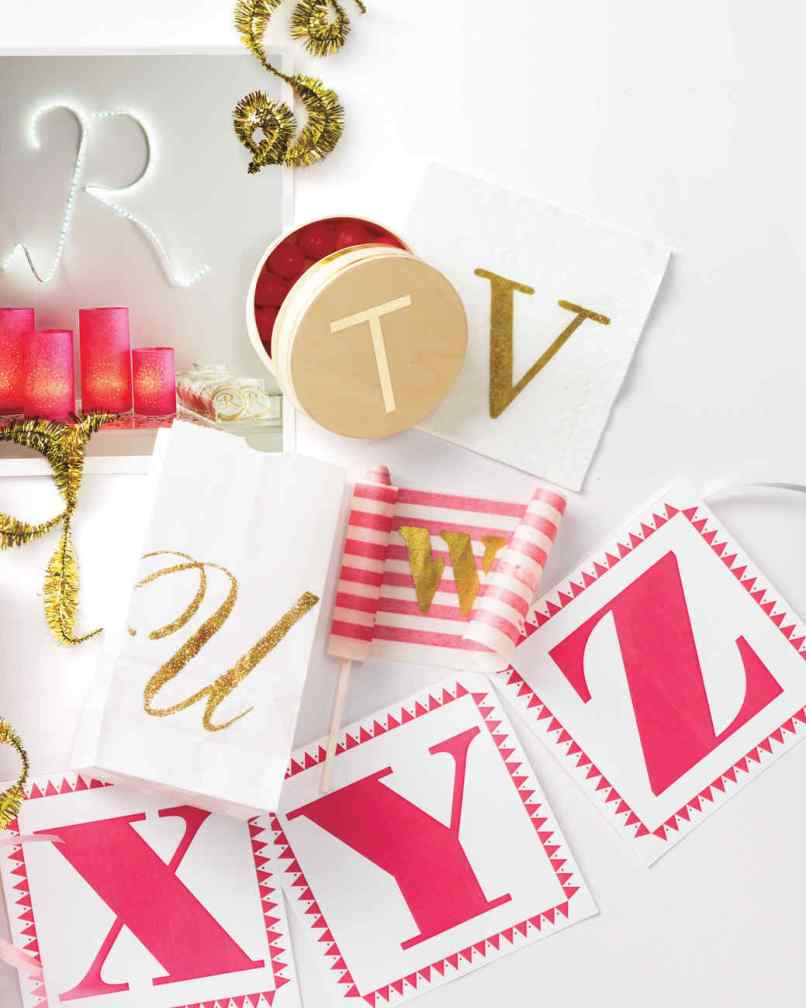 Free Printable Letters For Banner Martha Stewart  InviviewCo