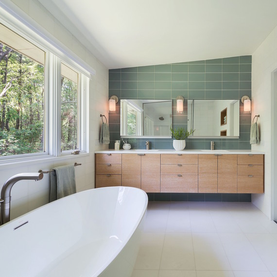 how to turn your bathroom into a personal home spa | martha stewart