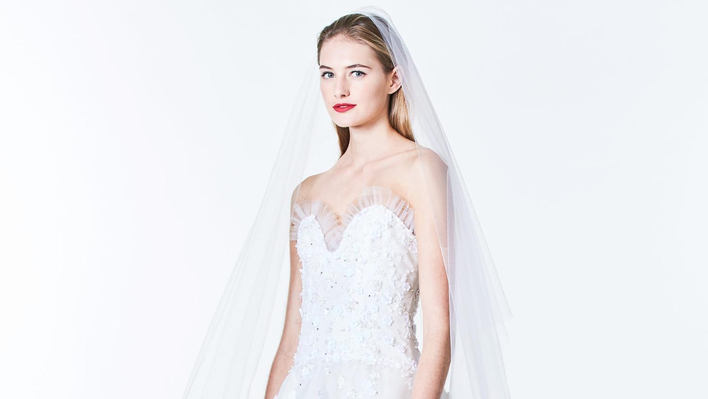 Carolina Herrera Fall 2017 Wedding Dress Collection