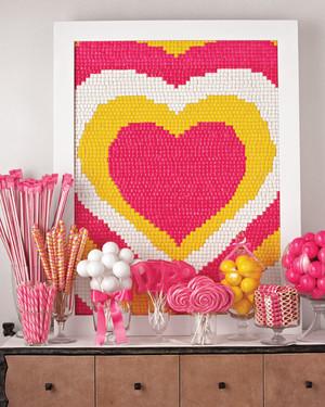 Bridal Shower Candy Buffet