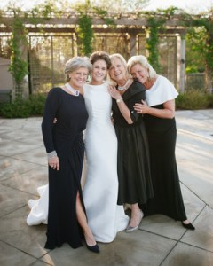 Mother of the Bride Dresses That Aren t Matronly   Martha Stewart     Elegant Black Dresses for the Mothers of the Bride and Groom