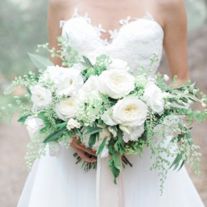Wedding Flowers   Bouquets   Martha Stewart Weddings 20 Stunning Wedding Bouquets with Ferns