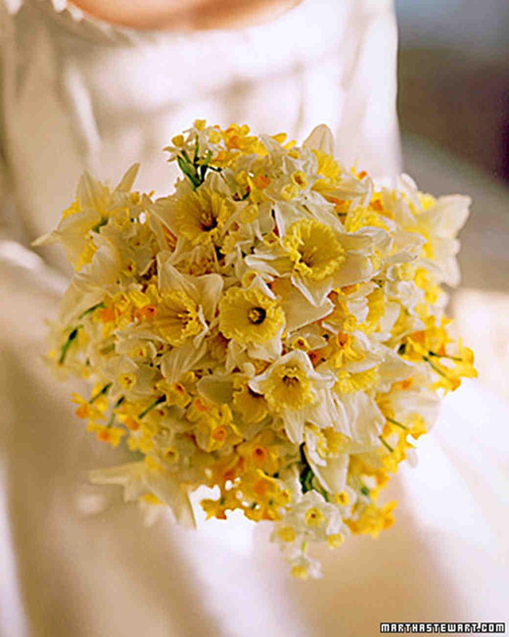 Martha Stewart Weddings Yellow