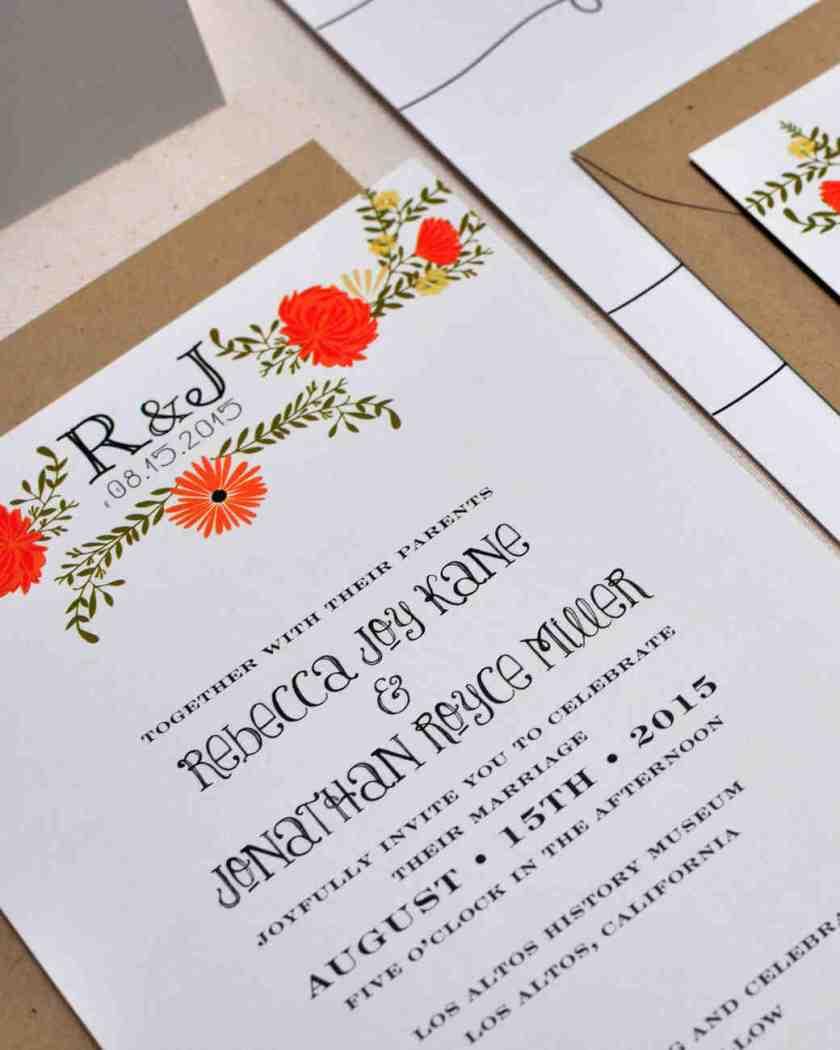 Meval Wedding Invitations Plumegiant