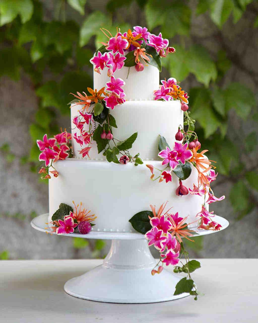 Flower Cake Wedding