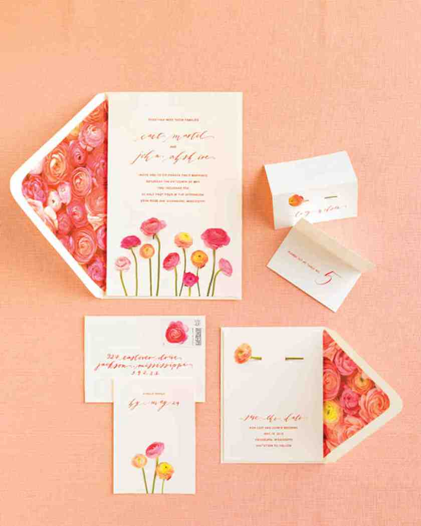 Blooming Invitation Suite