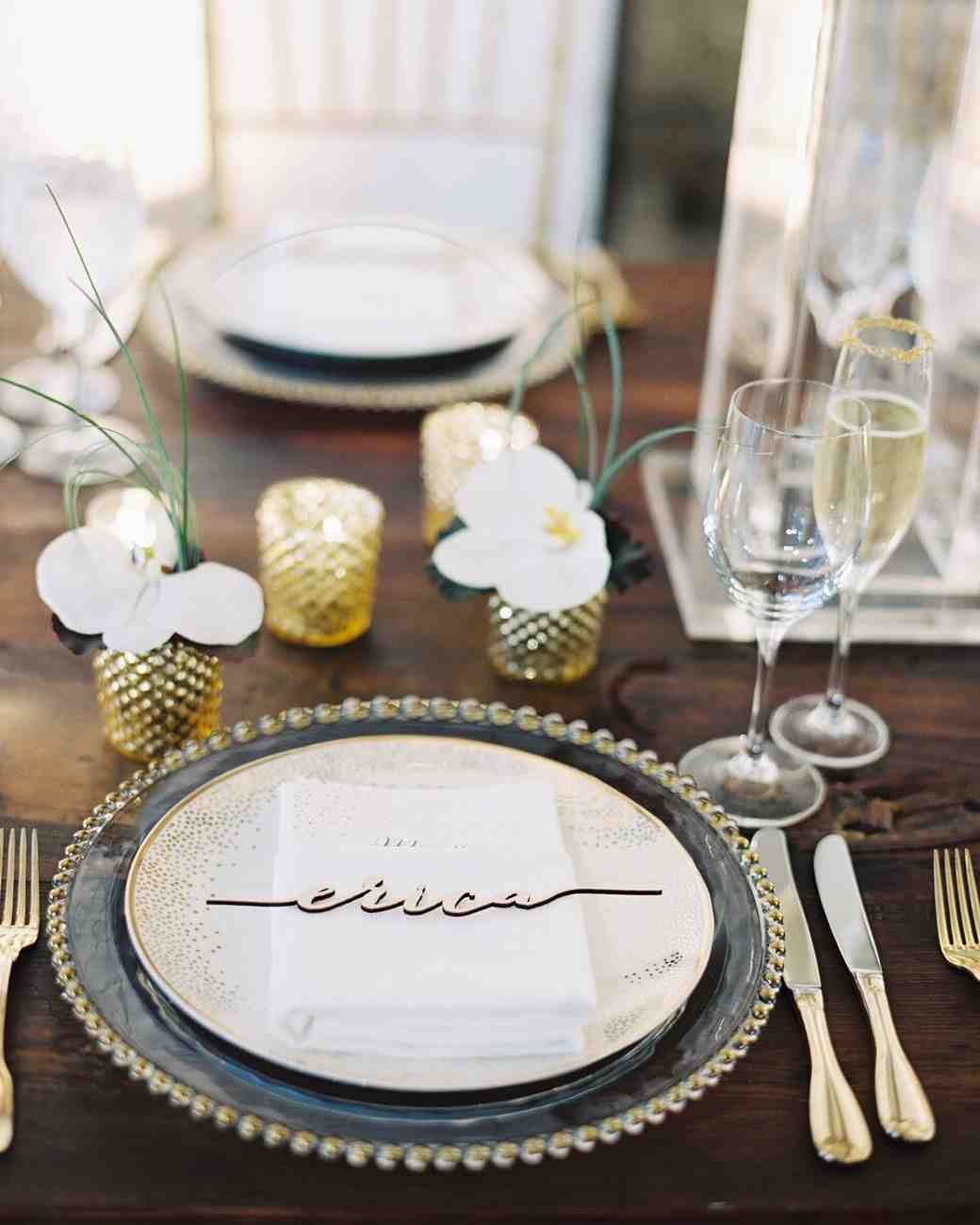 Martha Stewart Weddings Place Cards