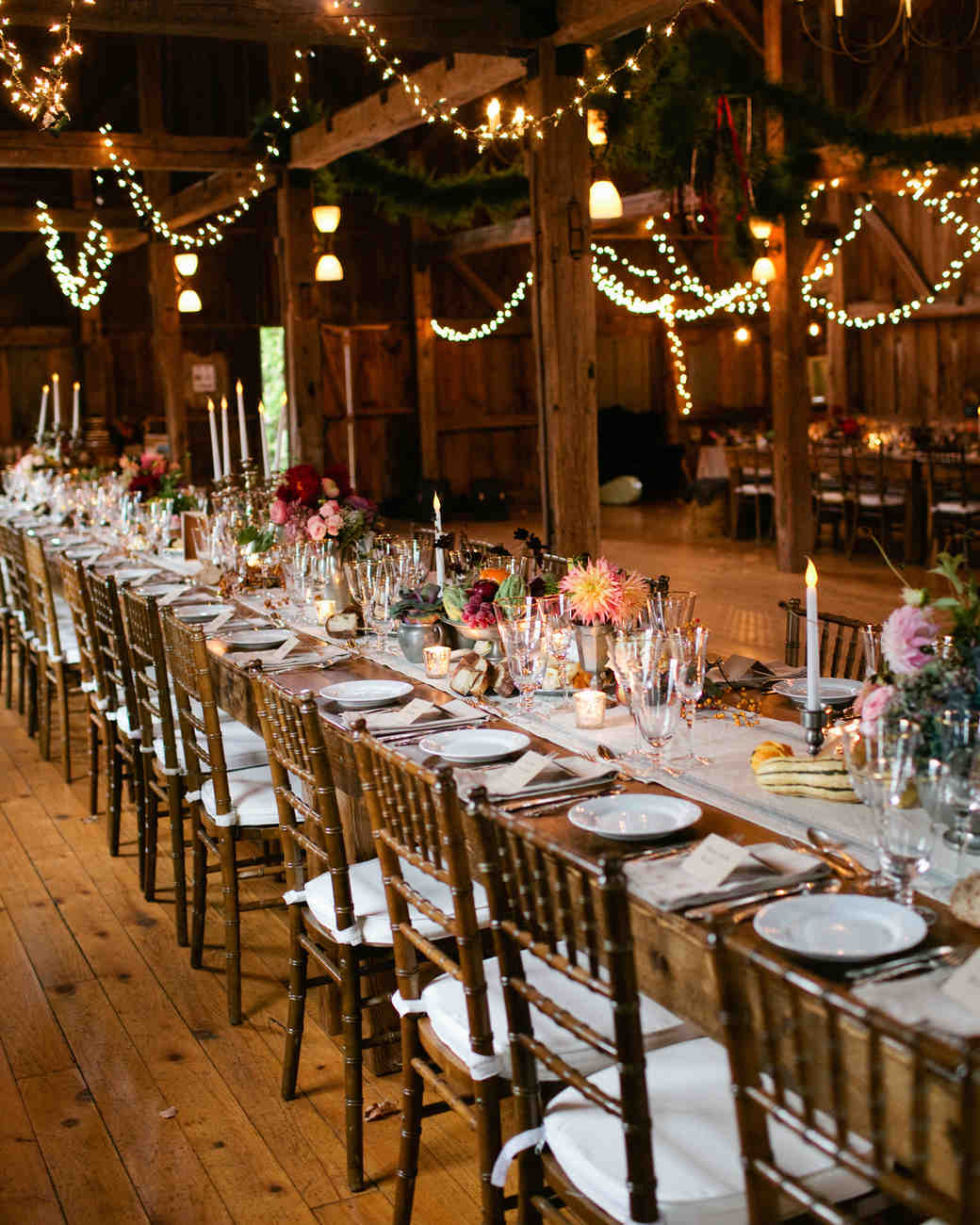 A Rustic Fall Barn Wedding In Maine Martha Stewart Weddings