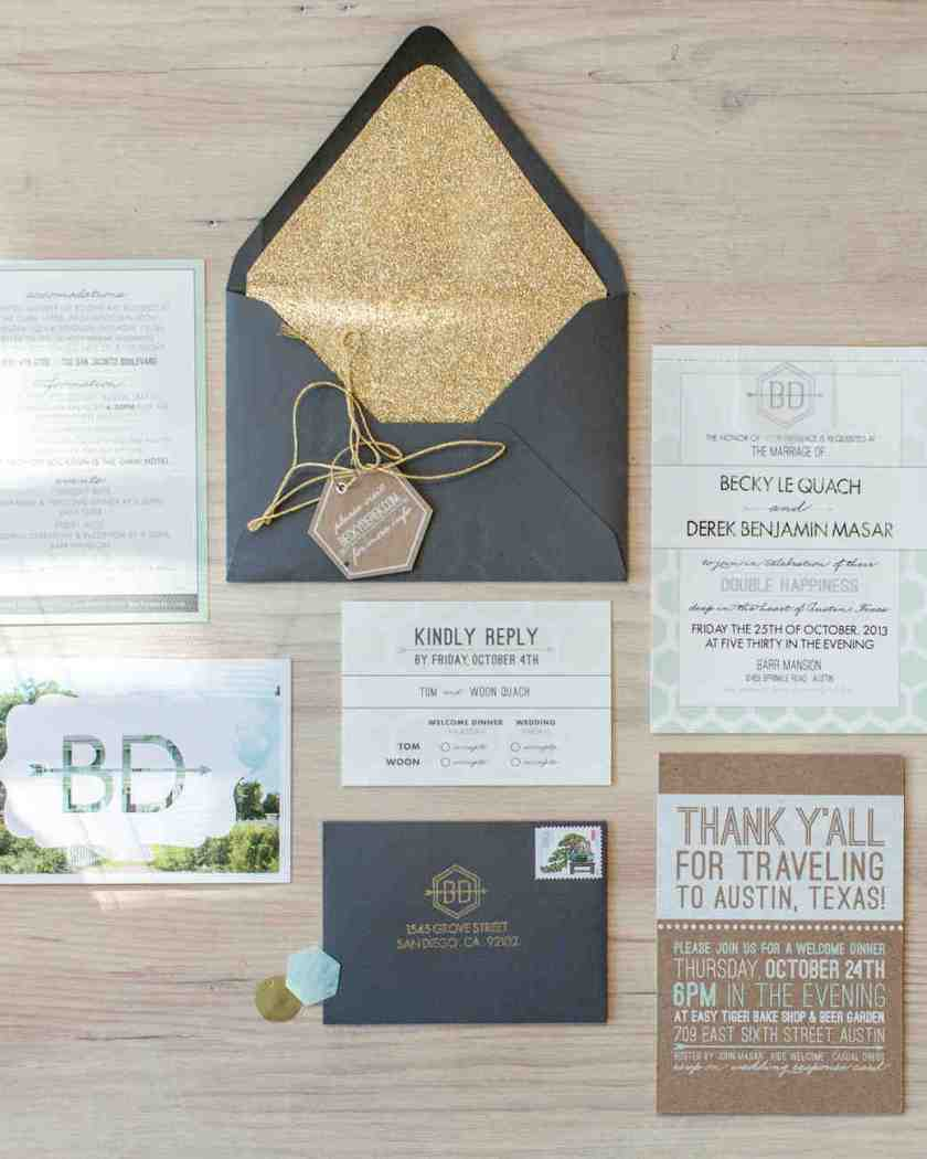 4 Steps For Creating Your Wedding Invitation Stationery Suite Martha Stewart Weddings