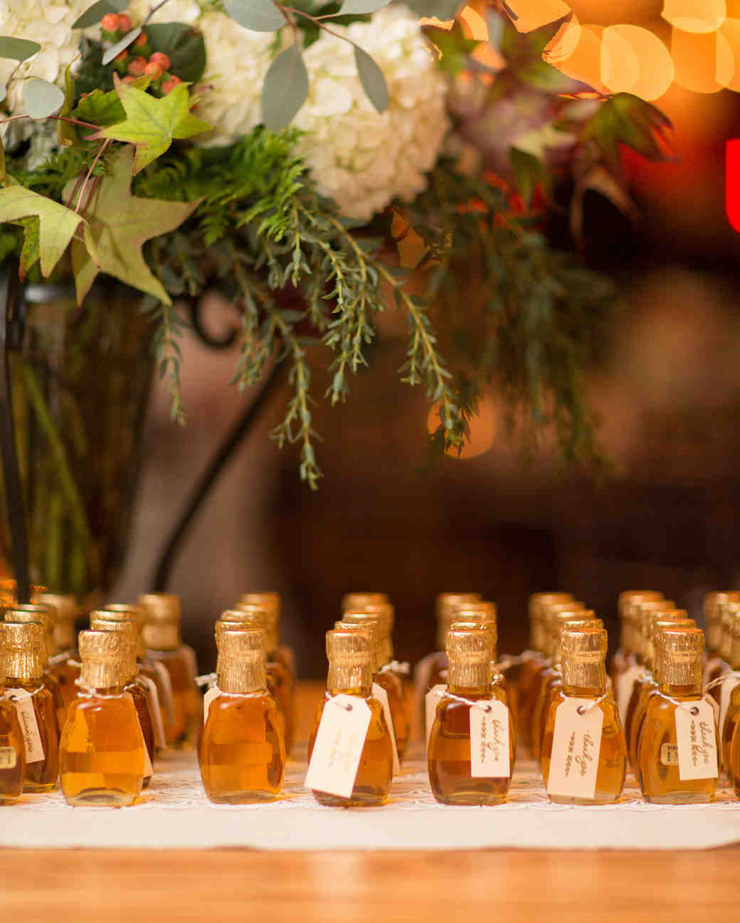 October Wedding Favor Ideas