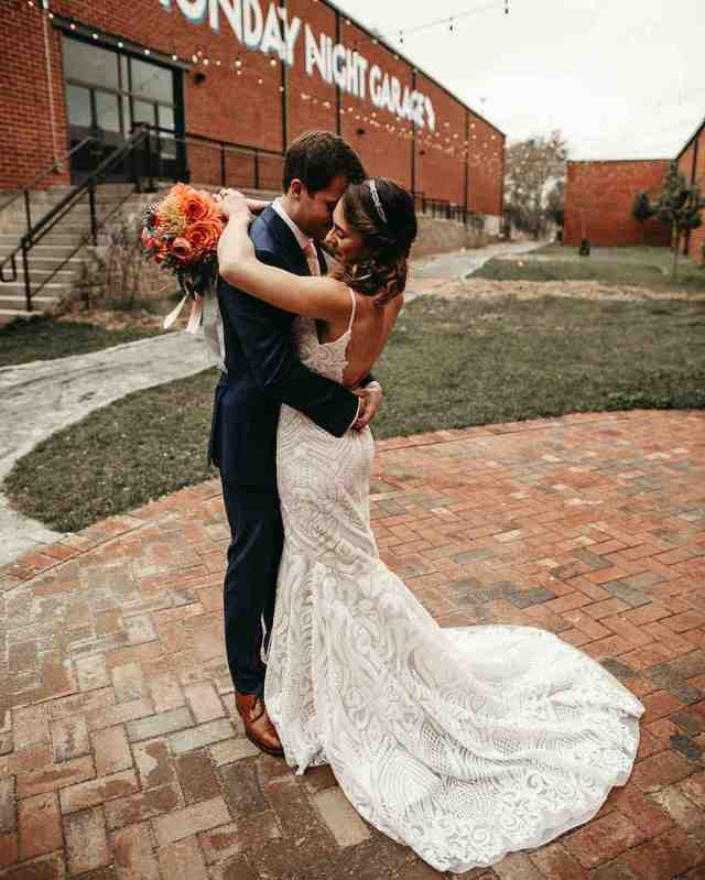brewery wedding venues couple