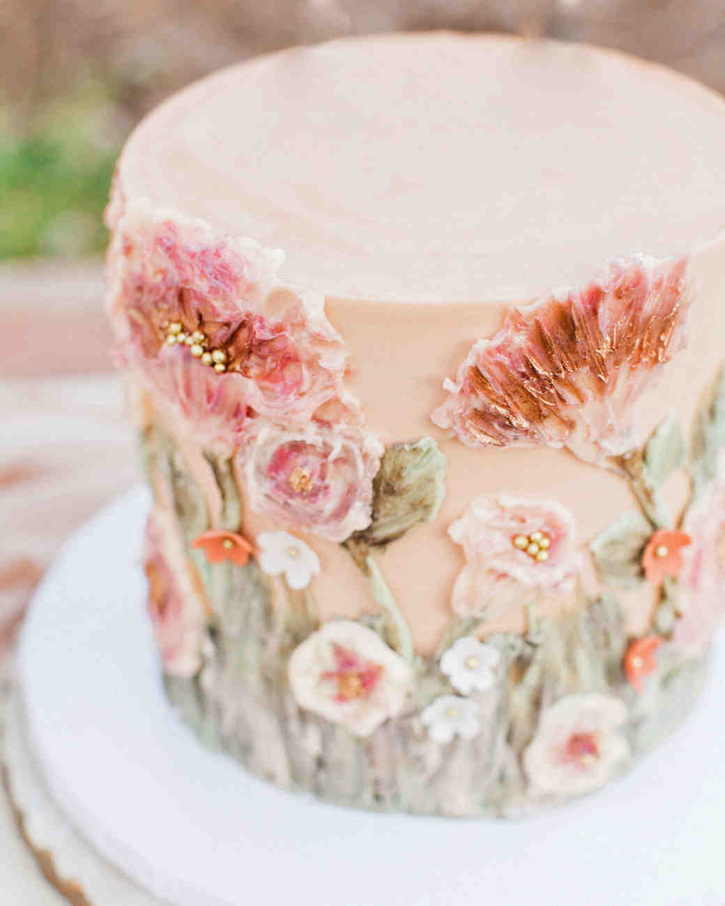 23 of the Sweetest Bridal Shower Cakes   Martha Stewart Weddings