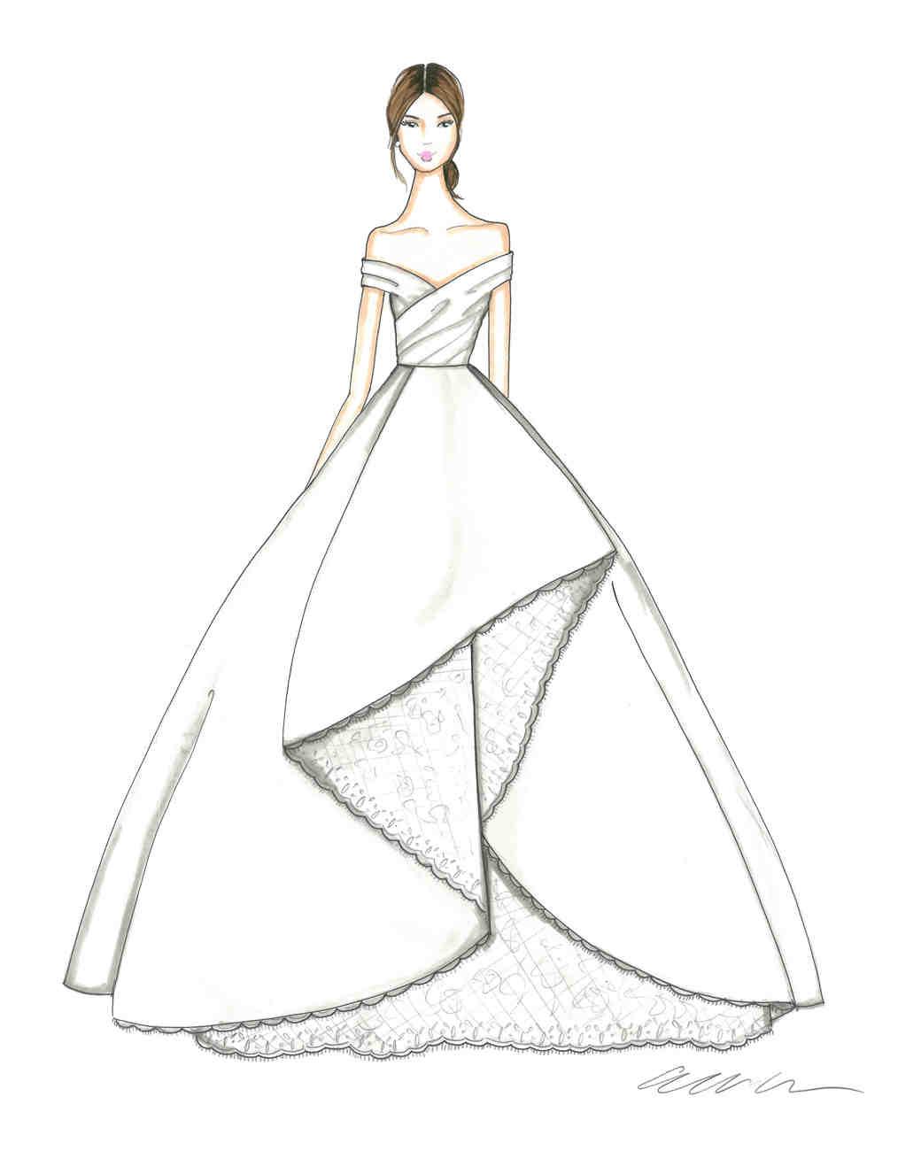 Princess Dress Simple Easy Dress Drawing Novocom Top