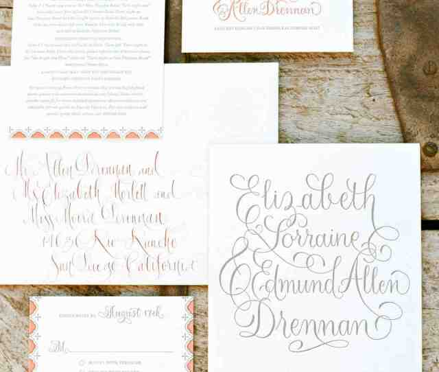 Things You Should Know Before Addressing Assembling And Mailing Your Wedding Invitations Martha Stewart Weddings