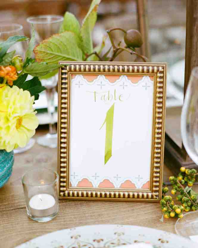 Use Pictures Of The Bride And Groom At Ages Corresponding With Table Numbers