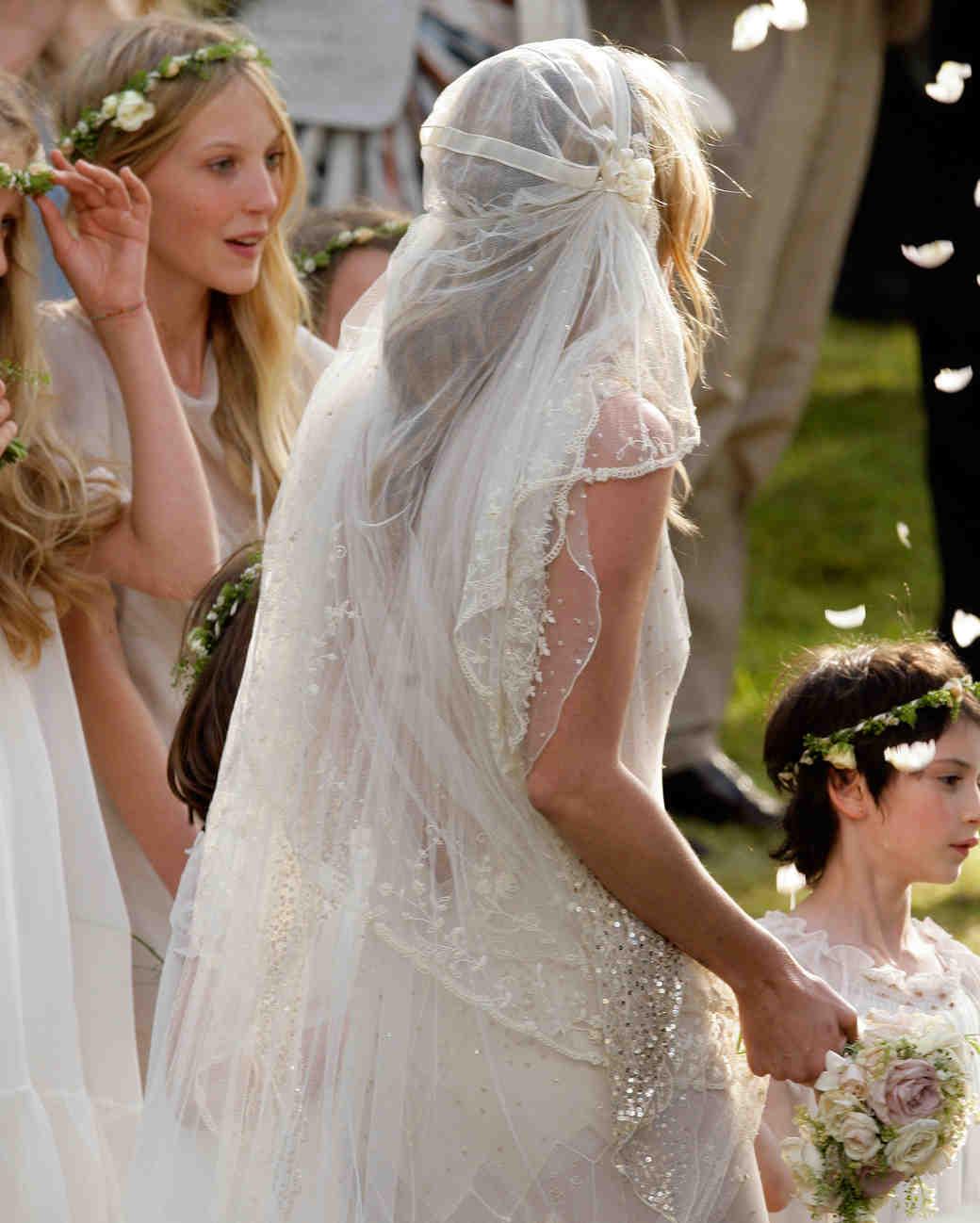 Martha Stewart Weddings Veils
