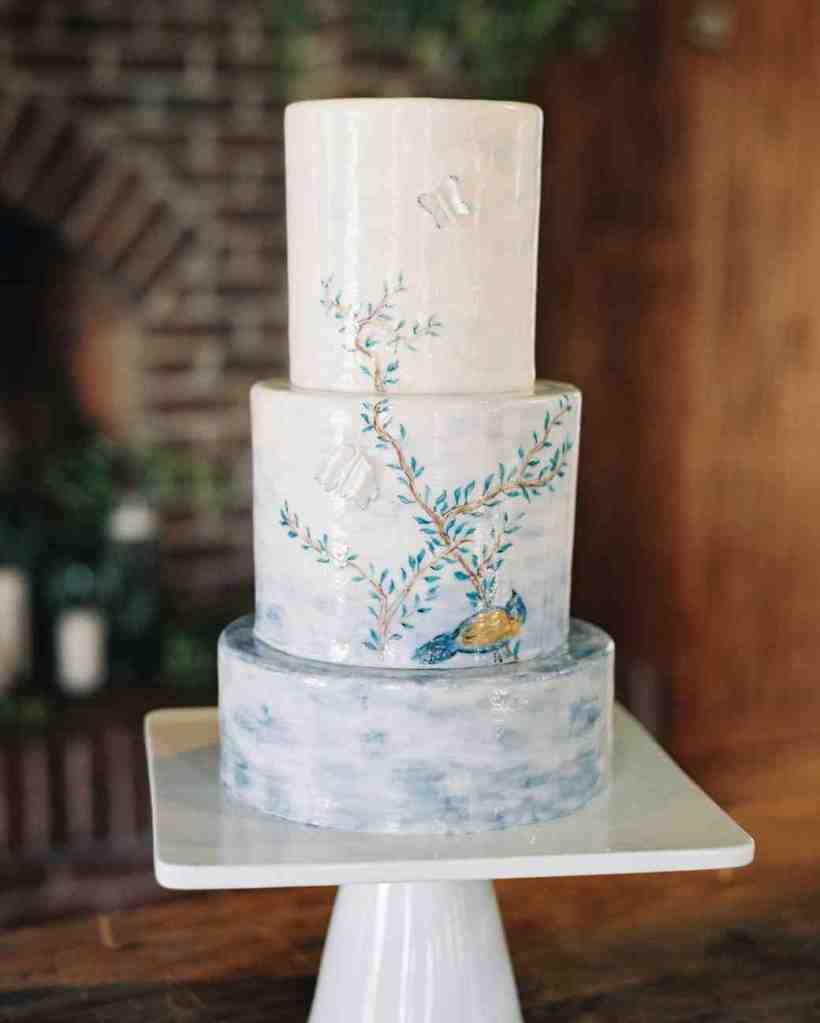 Rustic Wedding Cake Ideas | deweddingjpg.com