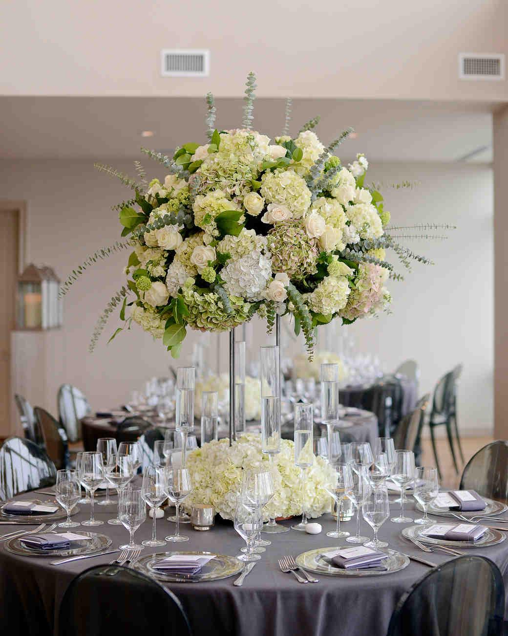 Ideas Centerpieces Wedding Reception Tables